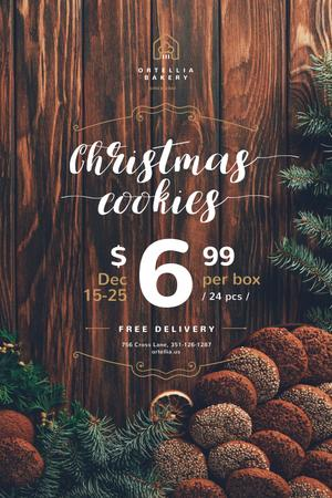 christmas cookies Pinterest Design Template