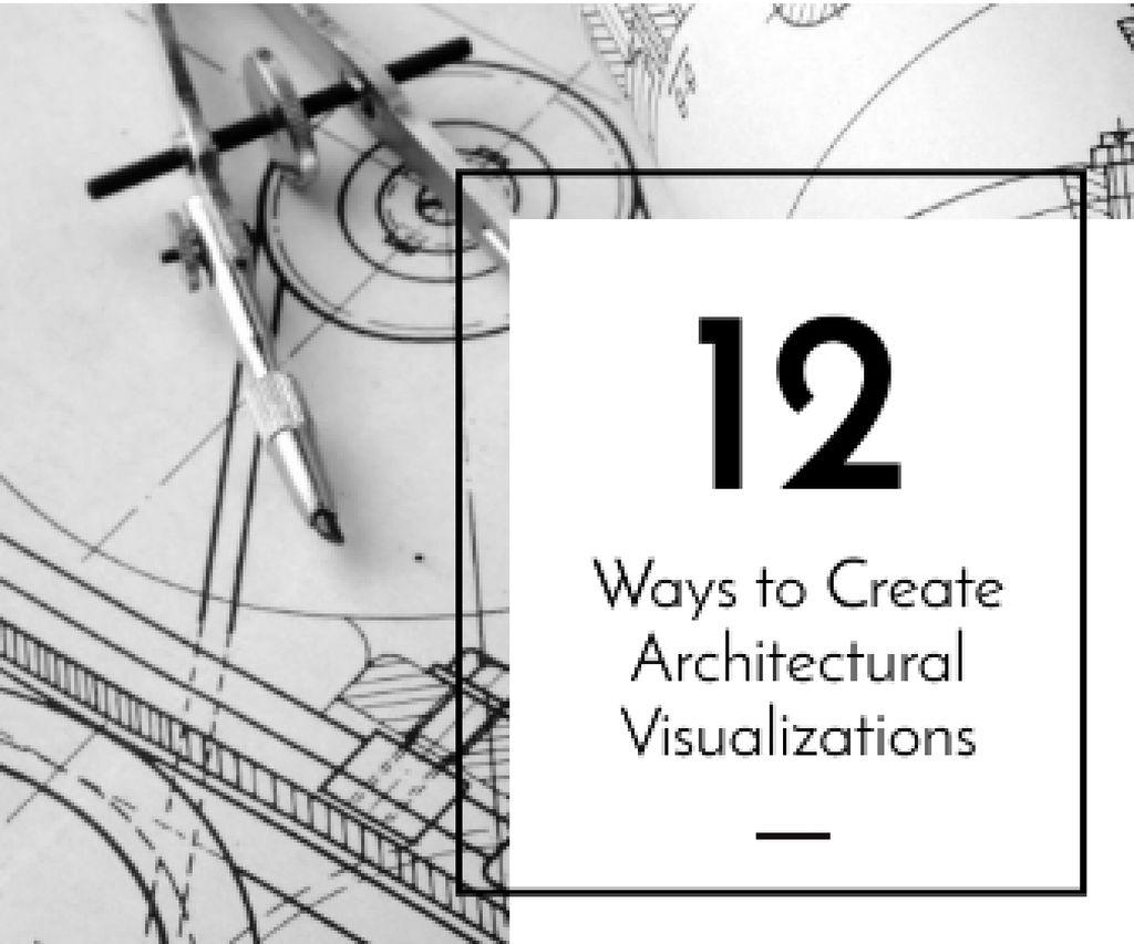 Architectural visualizations banner — Maak een ontwerp