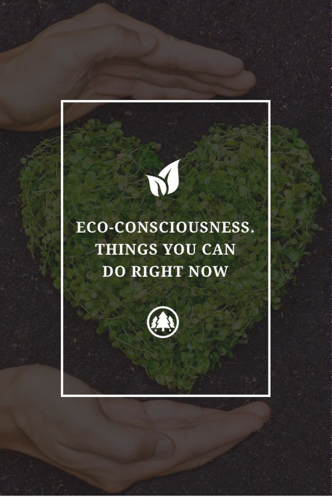 Eco Quote on Heart of Leaves —デザインを作成する
