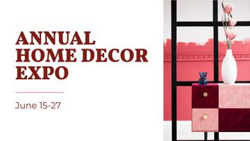 Home Decor Expo with Decorative Vase