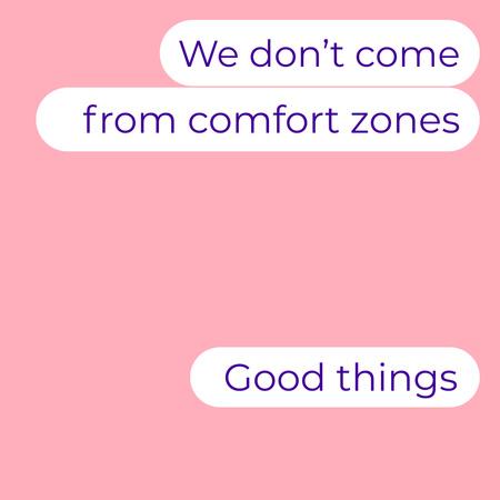 Cute Messages on Phone Screen Instagram – шаблон для дизайну