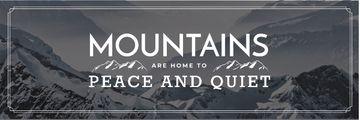 Mountain hiking travel