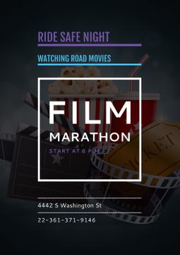 Film marathon night with Cinema Attributes