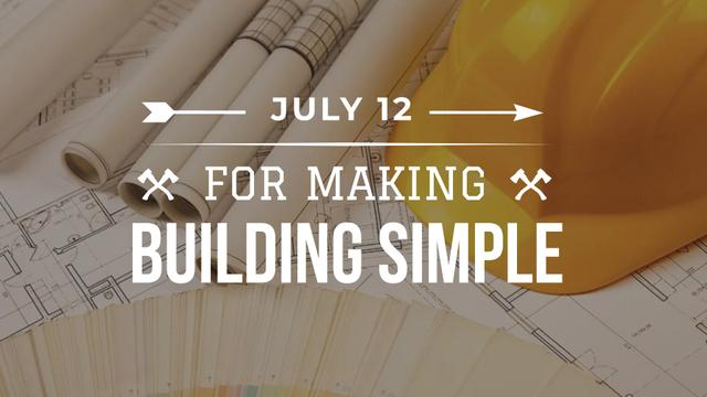 Building Event with Blueprints FB event cover – шаблон для дизайну