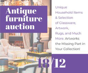 Antique Furniture Auction Vintage Wooden Pieces