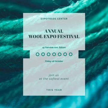 Annual wool festival Announcement