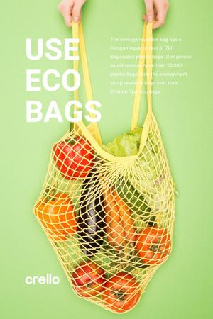 Modèle de visuel eco concept - Pinterest