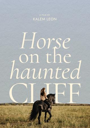 Movie Announcement with Girl riding Horse Poster – шаблон для дизайну