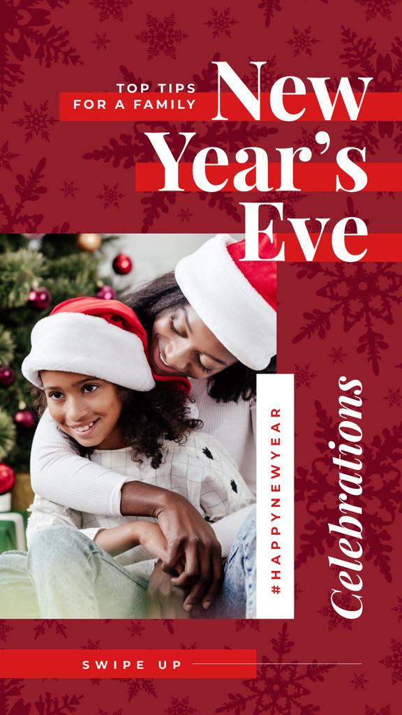 Family celebrating Christmas — Crear un diseño
