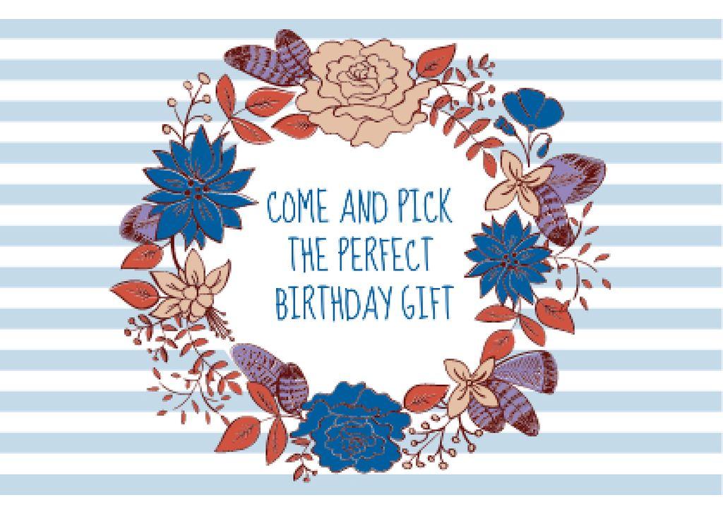 Happy birthday greeting card - Vytvořte návrh