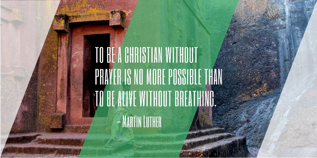 Religion citation about Christian faith — Crear un diseño