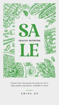 Healthy Nutrition Sale on Green