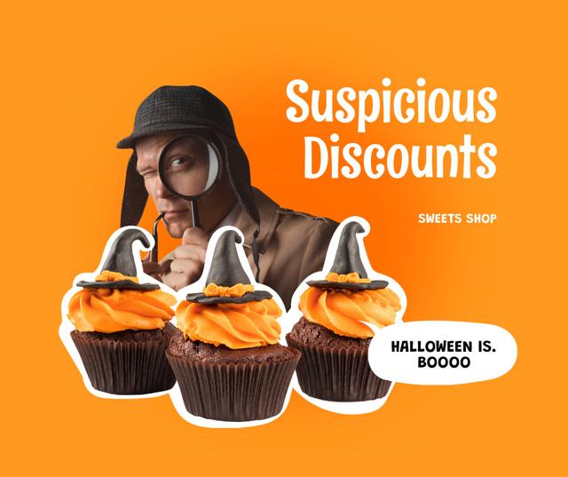 Funny Promotion of Sweets Shop Facebook – шаблон для дизайну