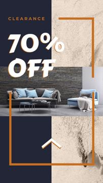 Furniture Sale announcement