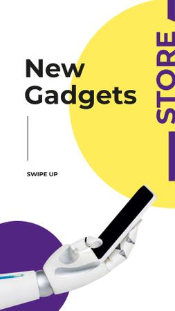 New Gadgets Store Offer Instagram Storyデザインテンプレート