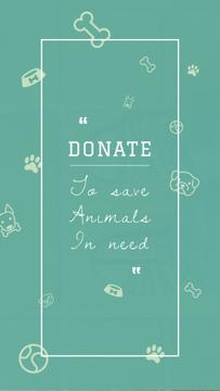 Donation for Animals Ad
