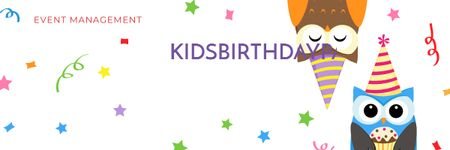 Birthday party in South Ozone park Email header – шаблон для дизайна