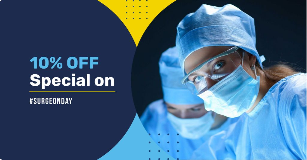 Surgeon Day Offer with Doctors — Crea un design