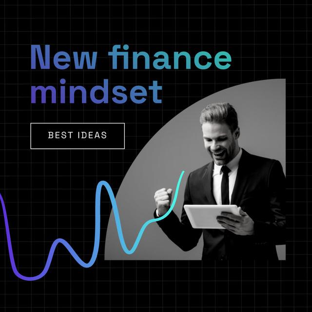 Szablon projektu Happy Successful Businessman Instagram