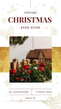 Christmas Decorations Ideas Baubles and Candles