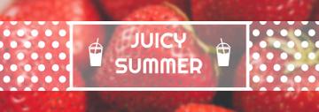 Summer Offer Red Ripe Strawberries