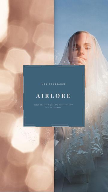 Template di design Wedding Dress Store Ad Bride in White Dress Instagram Video Story