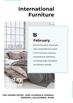 International furniture show Announcement