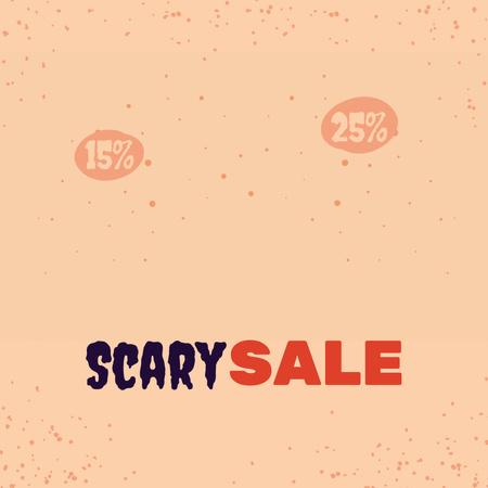 Halloween Sale Announcement with Smiling Pumpkin Animated Post – шаблон для дизайна