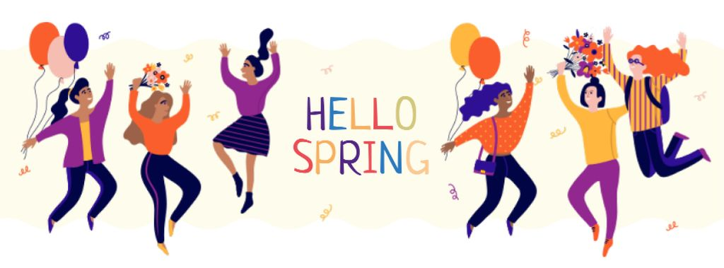Cheerful diverse women having fun — Створити дизайн