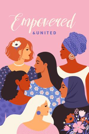 women Pinterest – шаблон для дизайну