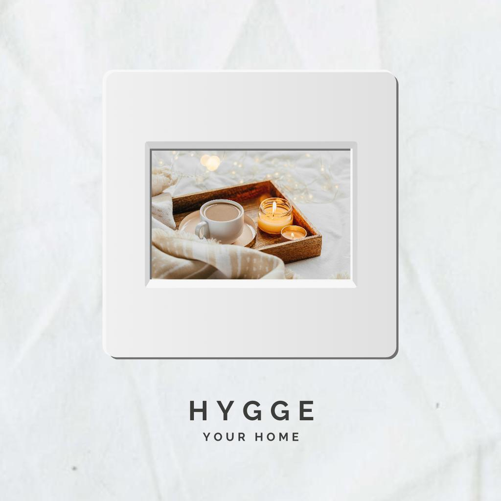 Coffee at Hygge Home Instagram Design Template
