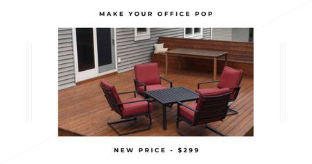 Modèle de visuel Furniture Sale announcement - Facebook AD