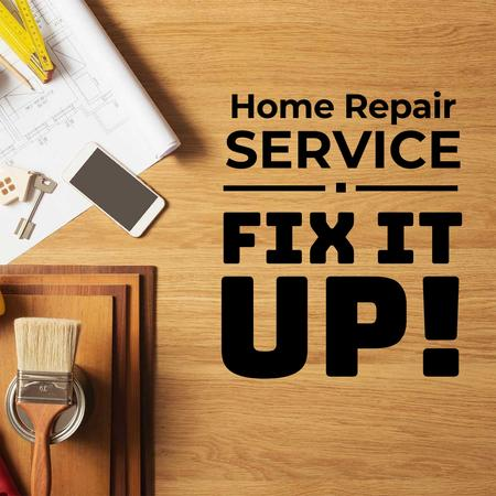 Plantilla de diseño de Home Repair Service Offer Instagram