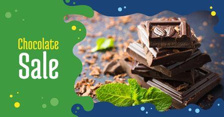 Template di design Chocolate Mint offer Facebook AD