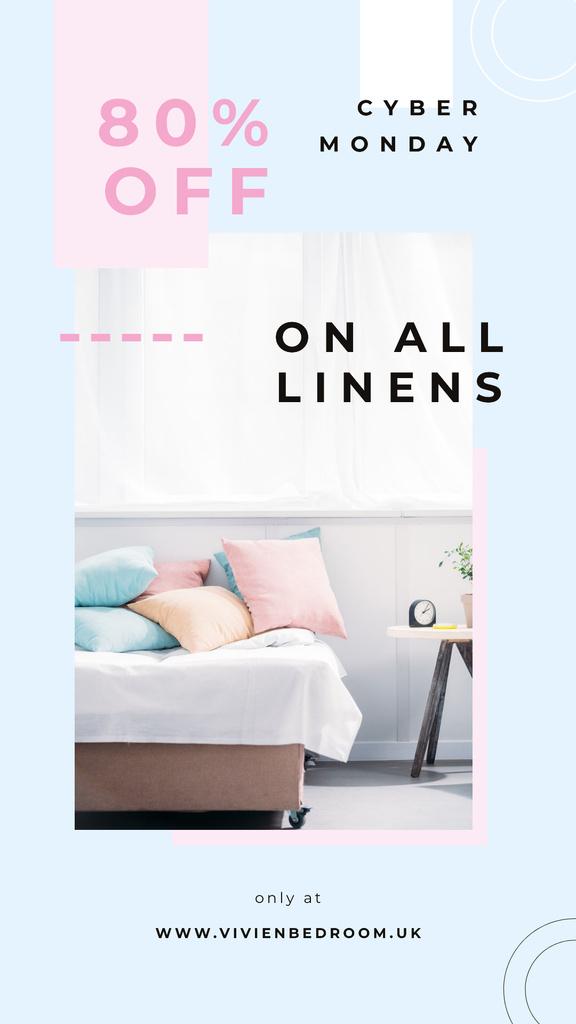 Cyber Monday Sale Cozy interior in light colors — Crear un diseño