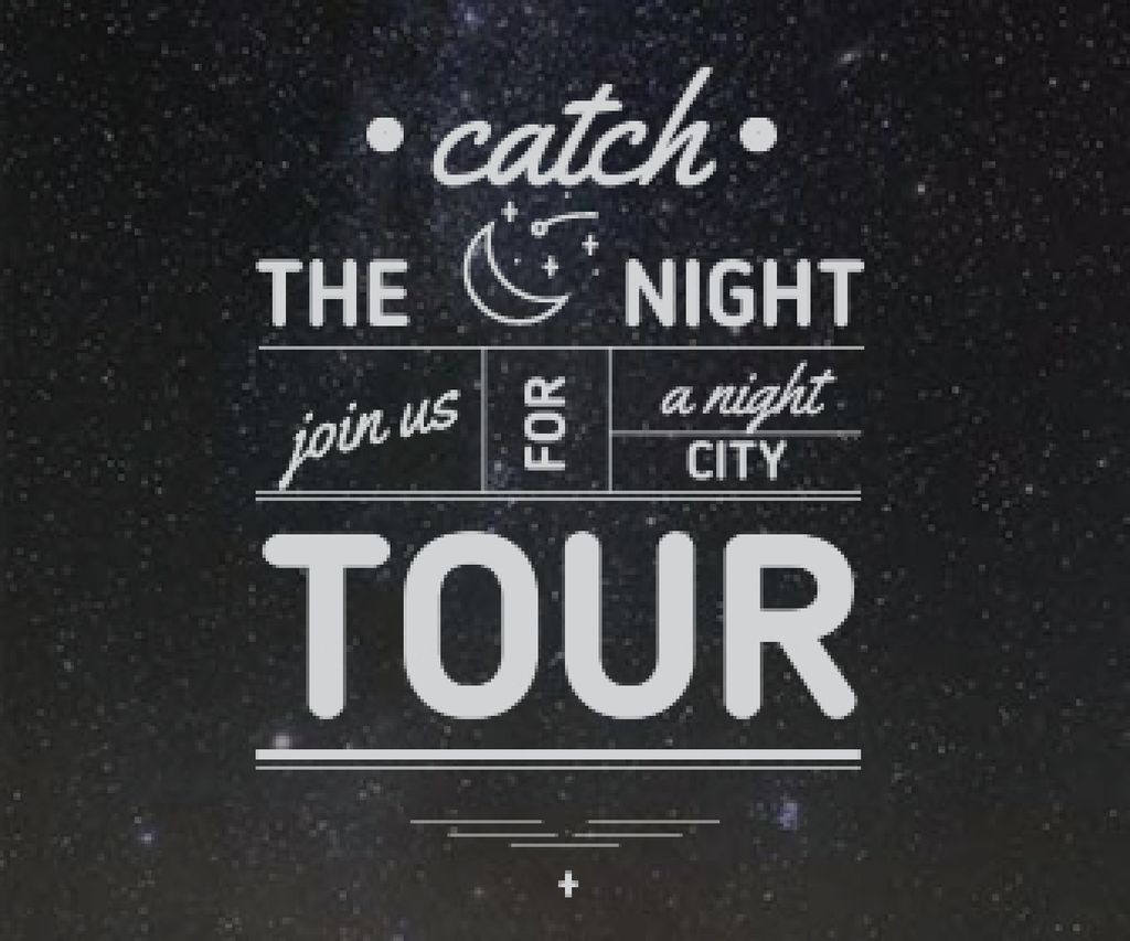 night city tour banner — Crear un diseño