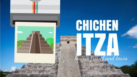 Modèle de visuel Chichen Itza Famous Sights - Full HD video