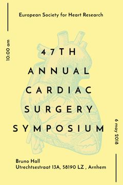 Cardiac Surgery Heart sketch