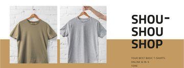 Clothes Store Sale Basic T-shirts