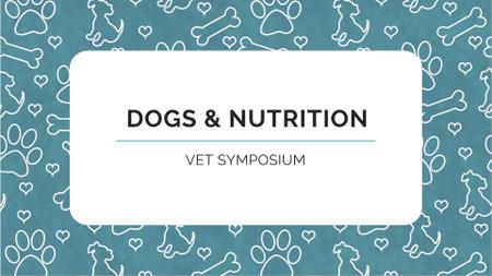 Plantilla de diseño de Sale of Pet supplies on Cute pattern FB event cover