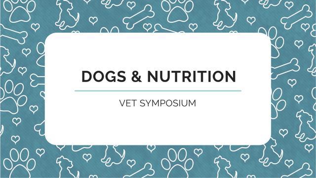 Plantilla de diseño de Sale of Pet supplies on Cute pattern FB event cover