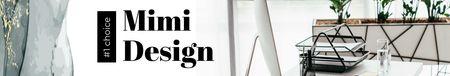 Design Studio ad on office table LinkedIn Cover Modelo de Design