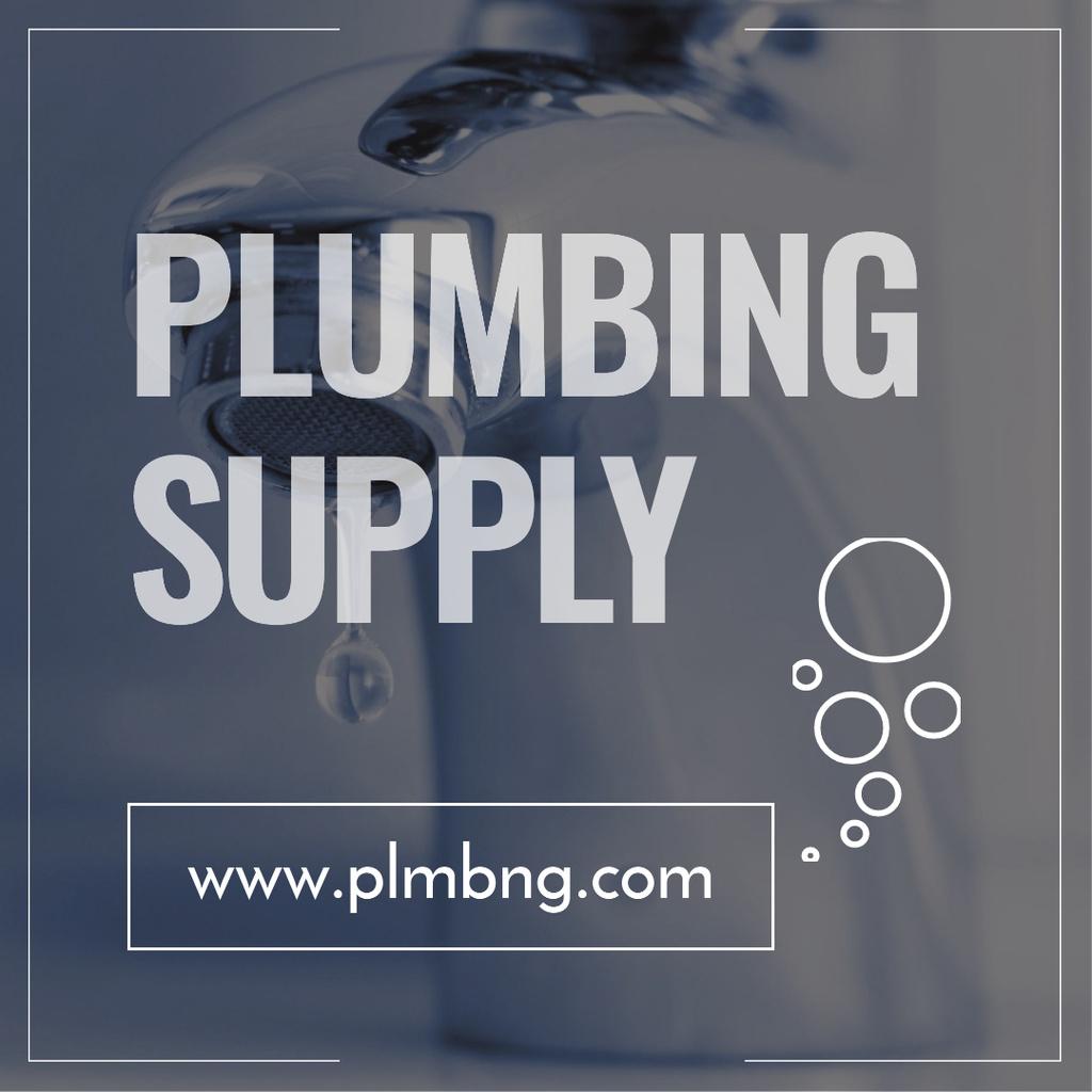 Plumbing supply Shop promotion — Maak een ontwerp