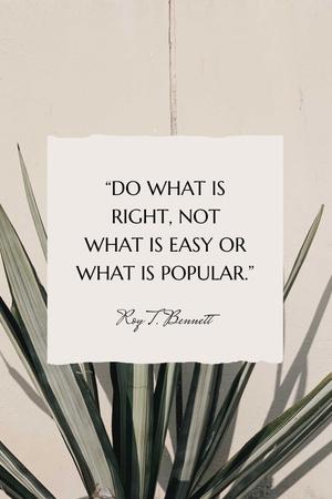 Inspirational quote on Tropical plant Pinterest Modelo de Design
