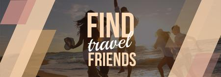 Travel Inspiration Young People at Seacoast Tumblr – шаблон для дизайну