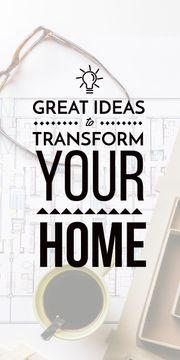 home decor interior design creative ideas banner