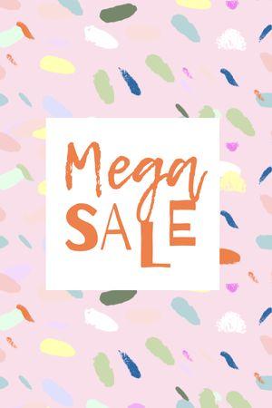 mega sale Tumblr – шаблон для дизайна