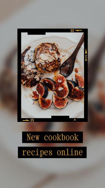 Szablon projektu food Instagram Video Story