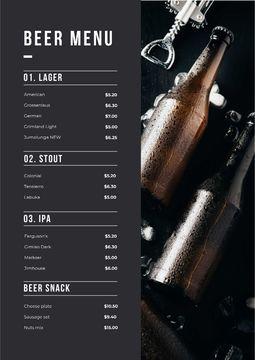 Beer Bottles variety