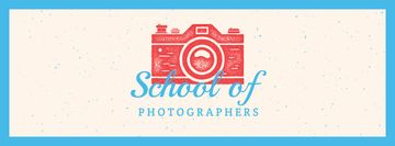 Photo School Ad Stamp of Camera
